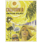 Californian tourism poster
