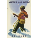 Colorado tourism poster