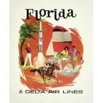 Florida travel poster