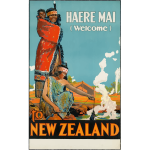 New Zealand traditional poster