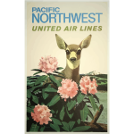 Travel poster of Pacific Northwest