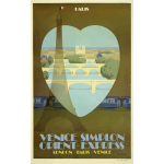 Orient Express travel poster
