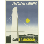 American Airlines vintage poster