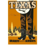 Promotional poster of Texas