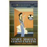 Orient Express promotional poster