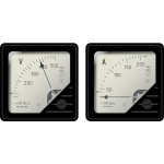 Voltmeter and ammeter