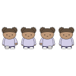 Walking Girl 2 Sprite Sheet Animation