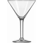 Martini cocktail glass vector graphics