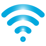 Blue wireless signal