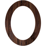 Wood Frame Circular Shape