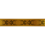Decorative gold ribbon