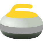 A curling rock