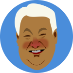 Yeltsin by Rones