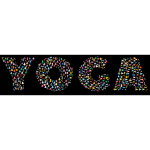 Yoga Typography Chromatic