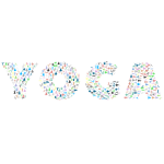 Yoga Typography No Background