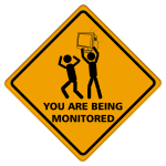 Being monitored