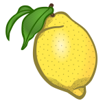 Lemon vector clip art