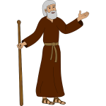 Father Abraham vector image