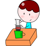 Free Woman Cooking Clipart