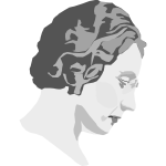 Vector illustration of Agnes Macphail