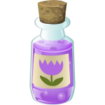 Alchemy purple bottle
