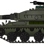 Tank military vehicle clip art