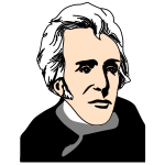 Thomas Jefferson vector image