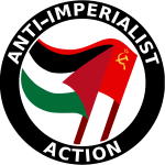Anti-imperialist action clip art