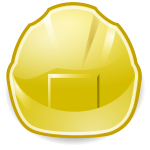 Simple yellow symbol