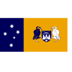 Flag of the Australian Capital Territory vector illustration
