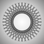 Spirograph animation art