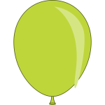 Toy balloon vector graphics
