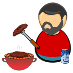 Barbecue guy