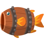Barrel fish image