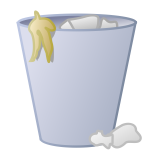 Trash can icon vector illustration