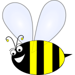 Vector Clip Art Of Bumble Bee Free Svg
