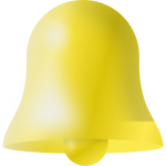Christian church bell vector image