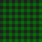 Black and green plaid cloth