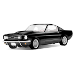 American sport car vector drawing
