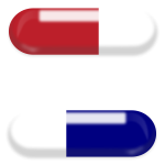 Vector illustration of pills