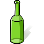 Green bottle image