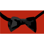 Bow tie vector graphics