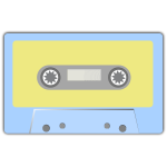 Vector of an audio tape