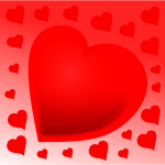 Vector clip art of heart