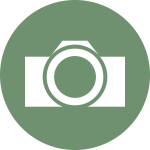Vector image of camera icon