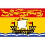 New Brunswick flag vector drawing