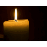 candle burning