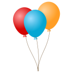 Balloons vector graphics
