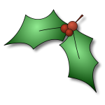 Holly Tree Vector
