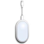 Wireless broadband modem vector image